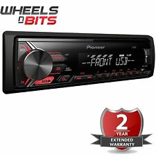NEW Pioneer MVH-190UB Mechaless Car Stereo Radio USB Aux Android Ready RDS Tuner