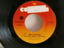 MAC DAVIS Poor boy boogie / stop and smell the roses  3-10018 PROMO