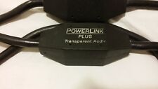 Transparent Audio POWERLiNK PLUS Power cord High-End Cable 6.5 feet 2 meters