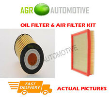 PETROL SERVICE KIT OIL AIR FILTER FOR VAUXHALL ASTRA 1.4 101 BHP 2010-