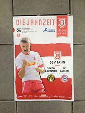 Programm Test Jahn Regensburg - FC Bayern München 03.09.15