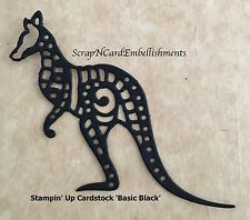 • • •Die Cuts ~ 'AUSTRALIAN WALLABY' x6 ~ Stampin Up C/S - Cards ~ Scrapbooking