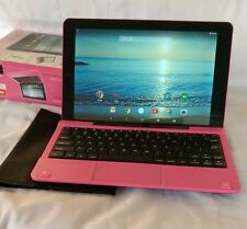 """RCA 10 Viking Pro 10.1"""" RCT6303W87DK 32GB Pink WiFi Android 5.0 Tablet +Keyboard"""