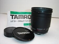 Tamron 28-200mm f/3.8-5.6 Aspherical AF Lens for Nikon cameras 71DN SN425192