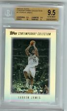 2003 Lebron James Topps Contemporary Collection rookie BGS 9.5 w/10 sp pop 70