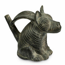 Replica Ceramic Vessel Sculpture 'Chimu Dog' Handmade Art NOVICA Peru