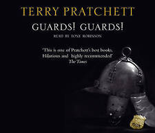 TERRY PRATCHETT - GUARDS!  GUARDS! CD. - new