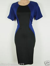 BNWT Ax Paris Curve Bodycon Optical Illusion Wiggle Pencil Dress Size 24 RRP £50