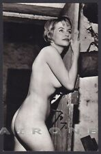 EROTISMO RISQUE NUDE - FRENCH WOMAN 42 EROTIC REAL PHOTO Postcard Ed. VERONIQUE