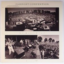 FAIRPORT CONVENTION: In Real Time LIVE '87 vinyl lp PROMO USA ORIG