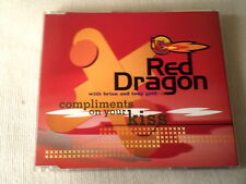 RED DRAGON - COMPLIMENTS ON YOUR KISS - UK CD SINGLE