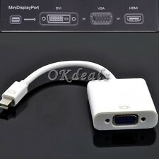 New Mini Display Port DP to VGA Converter Adapter Cable For Mac iMac MacBook Pro