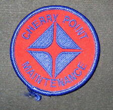ARCO CHERRY POINT EMBROIDERED SEW ON PATCH MAINTENANCE GAS OIL REFINERY 2 1/2""