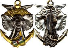 E.F.A.O, éléphant, défenses blanches, ajouré, grosses lettres, FIA 2970 (0030)