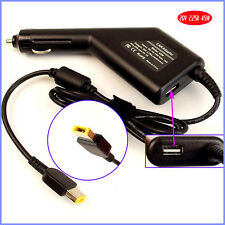 Laptop Car DC Adapter Charger + USB for Lenovo/ Thinkpad Yoga 11 11S 13