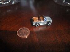 MICRO MACHINE SILVER VW VOLKSWAGEN GOLF RABBIT CABRIOLET RAGTOP