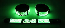 We Are the In Crowd  Glow in the Dark Rubber Bracelet Wristband The Best Thing