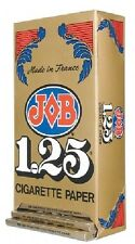 JOB 1.25 Gold Cigarette Rolling Papers Full Box/24 Booklets