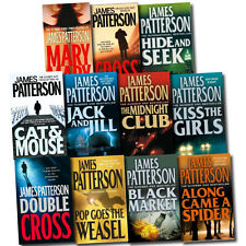 Alex Cross Series Collection James Patterson 11 Books Set Double Cross, etc