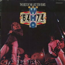 The Who The Best Of The Last Ten Years (My Generation, The Seeker) 70`s DLP
