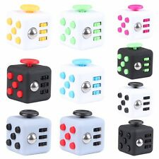 FIDGET CUBE STRESS ANXIETY DESK TOY RELIEF NEW OFFICE TOY
