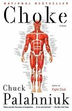 Choke Chuck Palahniuk Books-Good Condition
