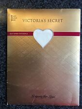 Victoria's Secret Vintage Stockings Cream Sz Medium