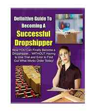 Definitive Guide To Becoming A Successful Dropshipper ebook Resell Rights 7