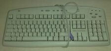 Tastiera Logitech Y-SE8 PS/2 Connector 104-keys Internet Keyboard White Bianca