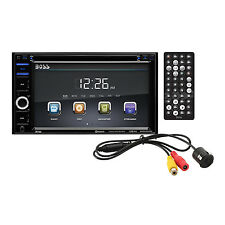 "Boss Audio Double-DIN 6.2"" Touchscreen Bluetooth DVD Player & Monitor 