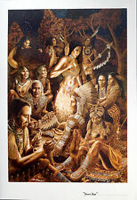 PEACE PIPE CHEROKEE INDIANS - TOM MASSE POSTER (71x56cm)  NEW LICENSED ART