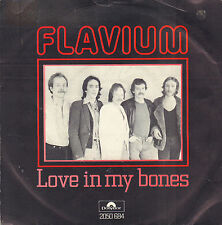 "FLAVIUM ‎– Love In My Bones (1981 DUTCH BLUES/ROCK VINYL SINGLE 7"")"
