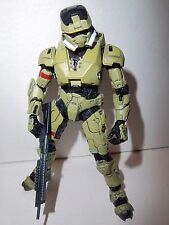 Halo 3 Series 2 **Olive Green EOD Spartan Soldier** 100% Complete w/ Weapon!!!!