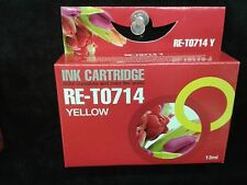 Compatible T714 yellow printer ink cartridge for  DX6000,DX6050,DX7450,DX8450
