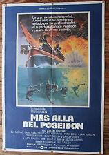 Used - Cartel de Cine  MAS ALLA DEL POSEIDON  Vintage Movie Film Poster - Usado