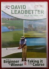David Leadbetter - From Beginner to Winner & Taking it to the Course, 2 DVD Set
