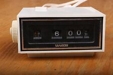 Vintage Montgomery Ward Electric Flip Clock Alarm Model 45-9785 Works