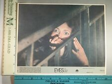 Rare Original VTG Eyes Of Laura Mars Columbia Pictures Movie Lobby Photo Card