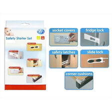 FIRST STEPS BABY/TODDLER/CHILDREN 16 PIECE HOME SAFETY STARTER SET - LOCKS