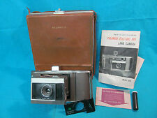 POLAROID ELECTRIC EYE J66 LAND CAMERA WITH MANUAL AND CASE