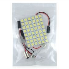 48 SMD 5050 LED Light Lamp Car Interior White Panel T10 Festoon Dome BA9S 12V #p