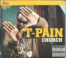 T PAIN Church w/ Buy you a Drank RARE KANYE WEST REMIX Ringle Single SEALED USA