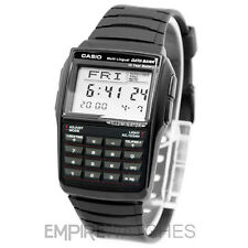 **NEW** CASIO DATABANK CALCULATOR RETRO BLACK WATCH - DBC-32-1A - RRP £55
