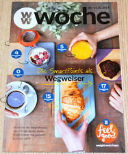 Weight Watchers Feel Good Woche 8.1 - 14.1 SmartPoints 2017 Wochenbroschüre NEU
