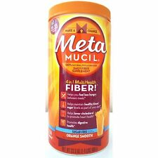 Metamucil Sugar Free - 114 doses - Orange Flavor Fiber 23.3 oz / 660 grams