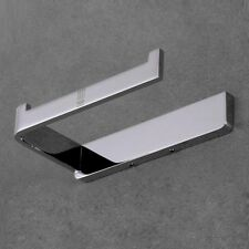 Wall Mounted Bathroom Stainless Steel Toilet Paper Holder Roll Tissue Chrome