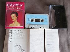SHEENA EASTON Take My Time JAPAN CASSETTE w/Pic Slip Case+Insert ZR28-569 FreeSH
