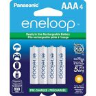 Panasonic Eneloop AAA 4 Pack 2100X Pre-Charged Ni-MH Rechargeable Batteries