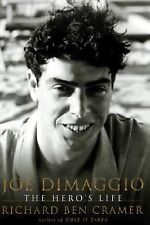 "2000--""JOE DiMAGGIO...HERO'S LIFE""--RICH. CRAMER--HC/DJ ABOUT ""JOLTIN' JOE""--NMT"