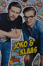 JOKO & KLAAS - A3 Poster (ca. 42 x 28 cm) - Clippings Fan Sammlung NEU